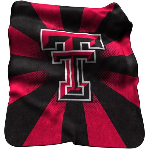 Logo Chair NCAA TX Tech Raschel Throw