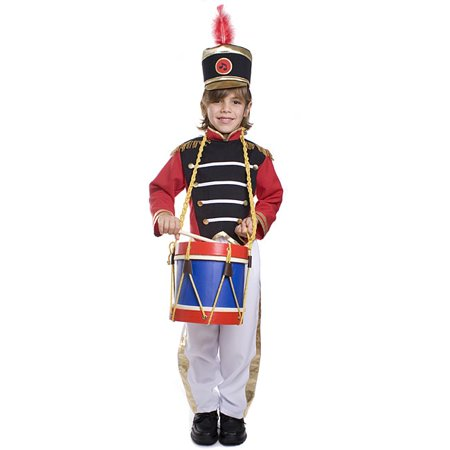 Dress Up America  Boy's 3-piece Drum Major Costume](Captin America Costume)