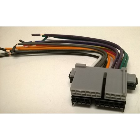 1994 Chevrolet Pickup - Factory Radio replacement wires that plug into the original radio from a CHEVROLET, S-10 PICKUP, 1990, 1991, 1992, 1993, 1994, 1995, 1996, 1997, 1998, 1999, 2000, 2001, 2002 By Carxtc Ship from US