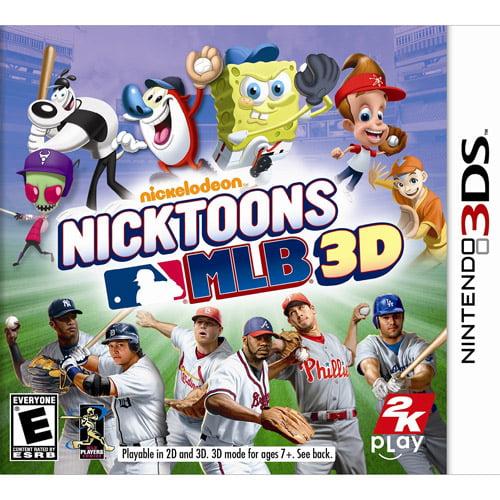 Nicktoons MLB 3D (Nintendo 3DS)