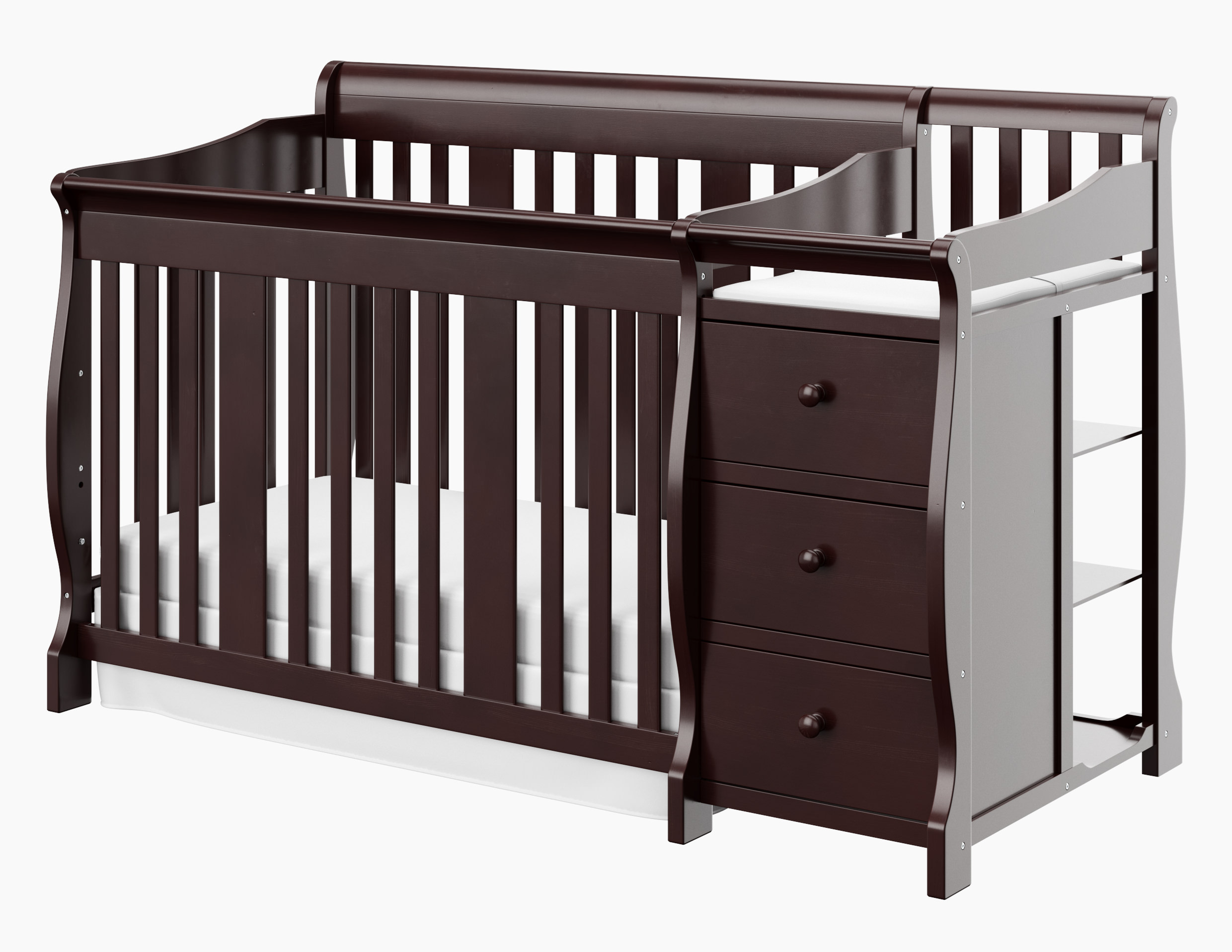 high beauteous smothery beds stork craft storkcraft crib furniture tuscany meridian bed convertible aiden in size full navy ar cribs new