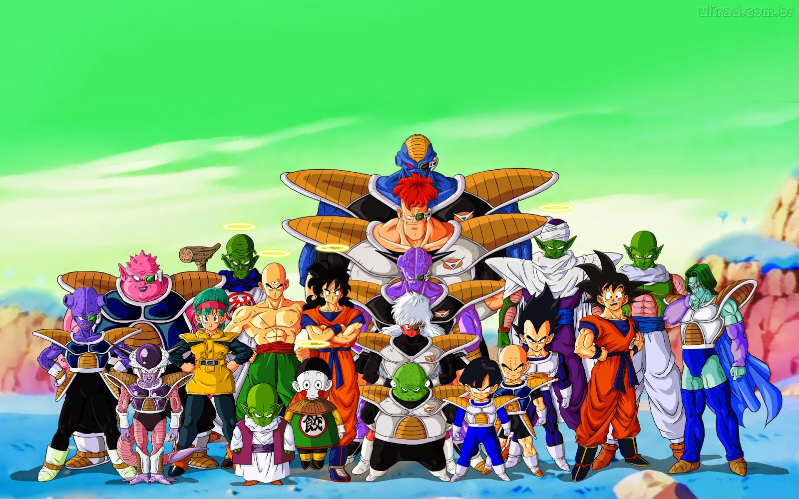 Dragon Ball Z Goku Edible Image Cake Birthday Topper Party 1//4 Sheet