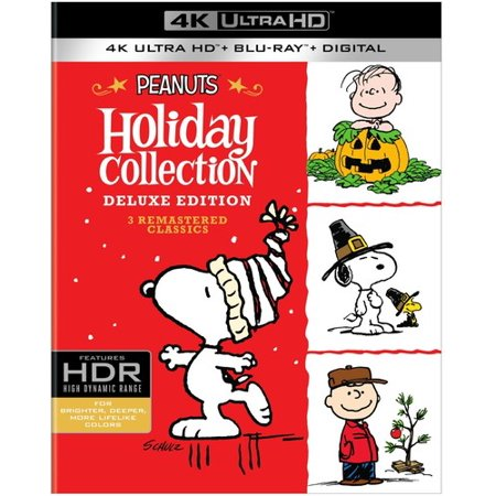 Peanuts Deluxe Holiday Collection (4K Ultra HD + Blu-ray + Digital Copy) - Halloween Deluxe Blu Ray Box Set