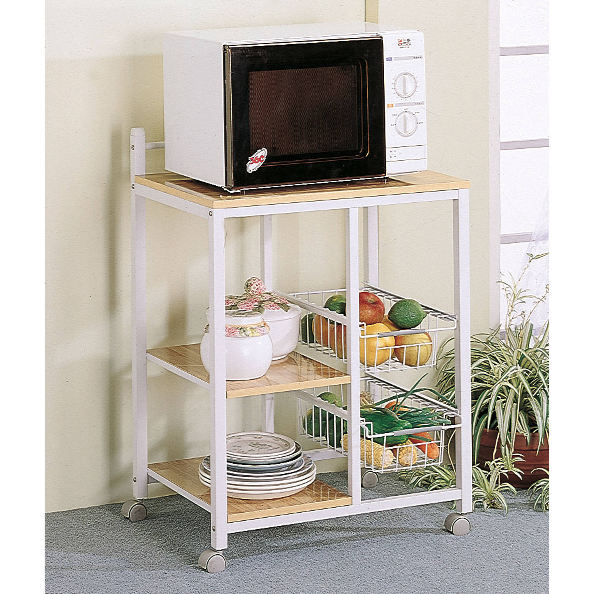 Coaster Kitchen/Microwave Cart