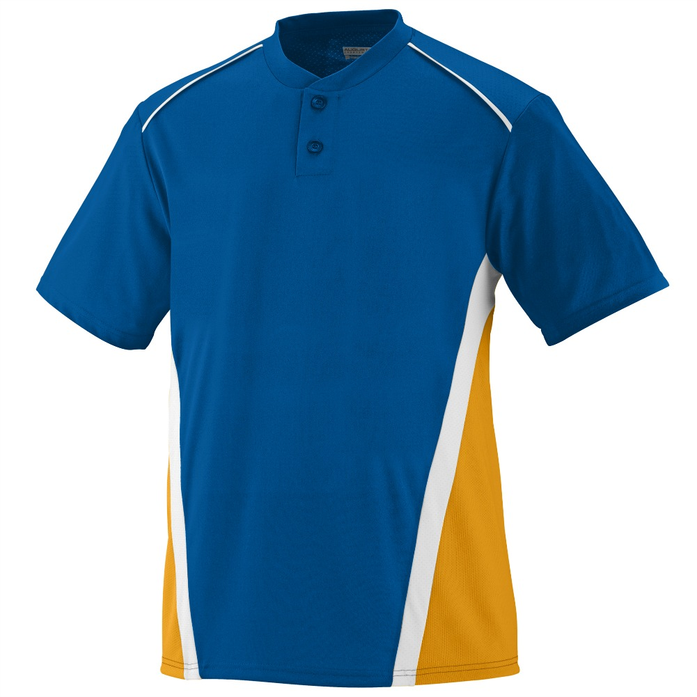Augusta YOUTH RBI JERSEY Rd/BK/WH S
