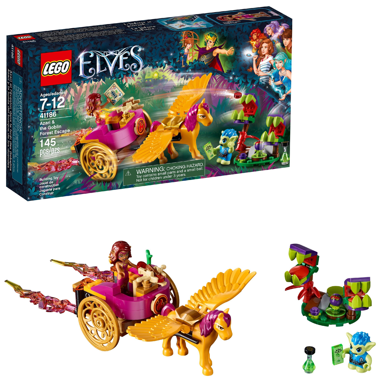 LEGO Elves Azari & the Goblin Forest Escape 41186 (145 Pieces)