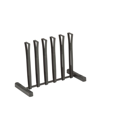 Boot Rack - Honey Can Do Plastic Rolling 3-pair Boot Rack, Black