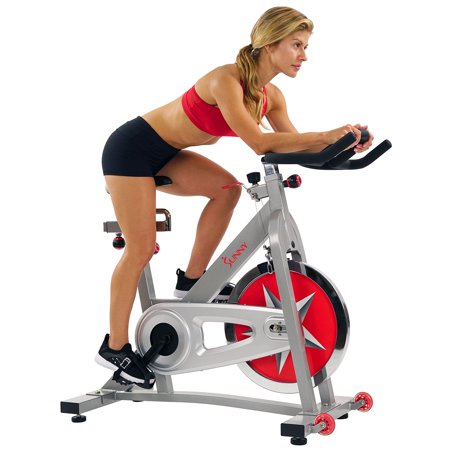 Sunny Health & Fitness SF-B901 40lb Flywheel Chain Drive Pro Indoor Cycling Exercise Bike