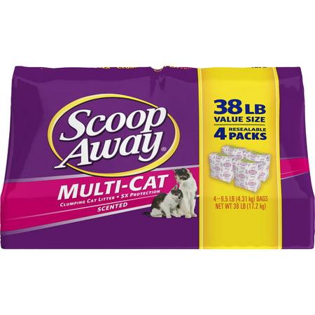 Scoop Away Multi-Cat, Scented Cat Litter, 38 - Halloween Cat Litter Cake
