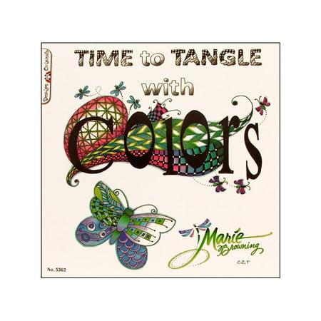 Design Originals Time to Tangle with Color Choose Color Original Design