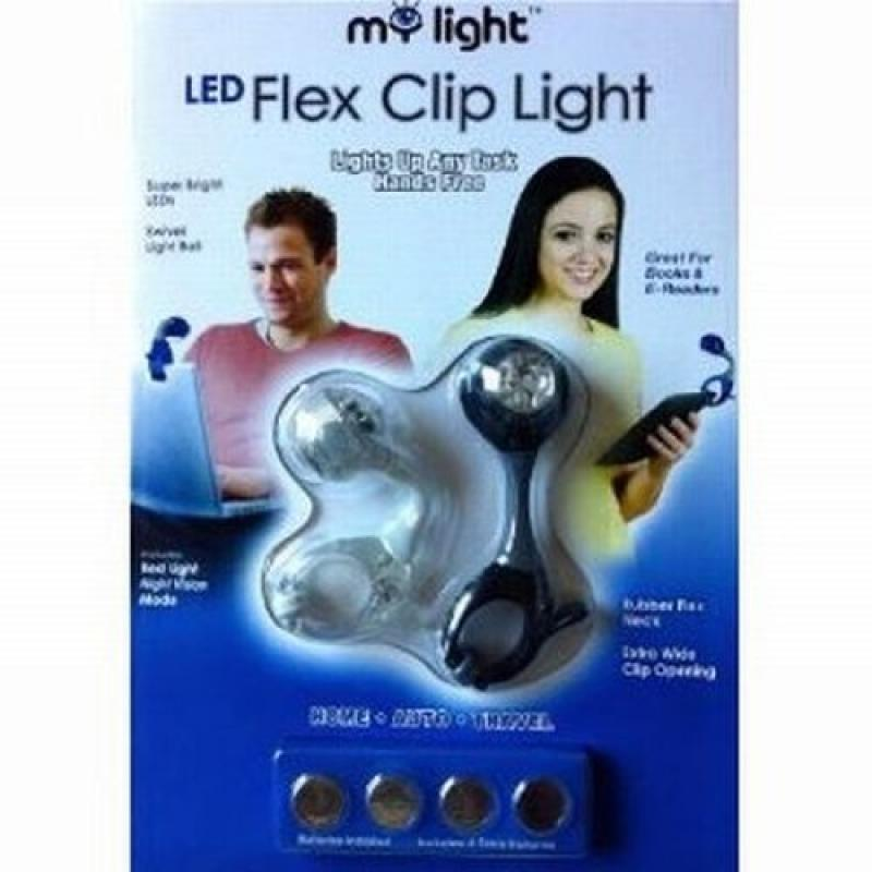 My Light LED Flex Clip Book Light by Wmu