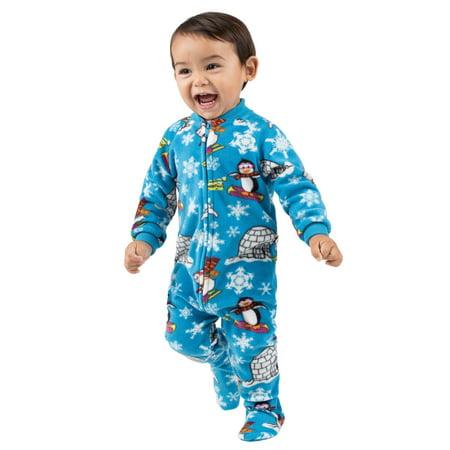 1bcc5daec Footed Pajamas - Footed Pajamas - Winter Wonderland Infant Fleece ...