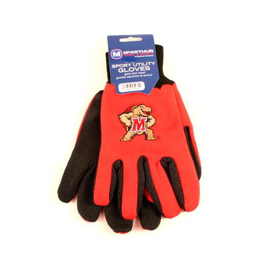 Wincraft R1052TTG Sports Utility Gloves - Maryland University