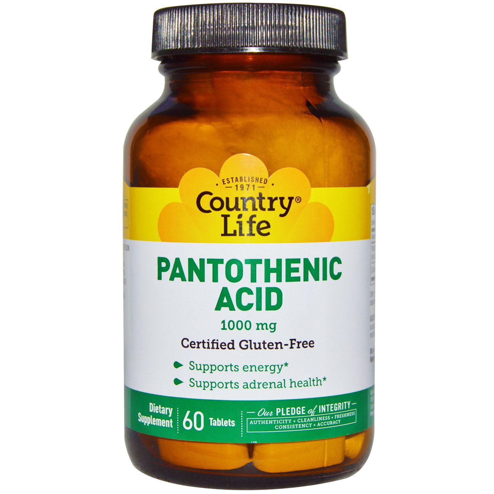 pantothenic acid 1000 mg