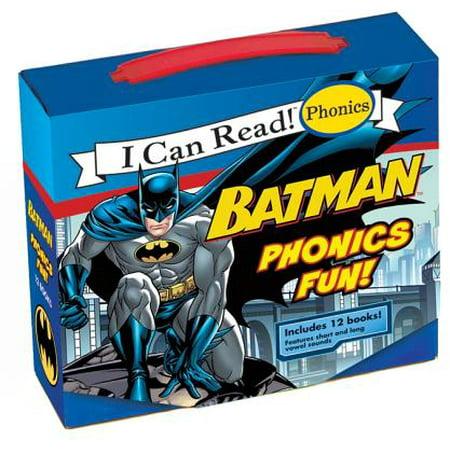 Fun Phonics Dvd (I Can Read! Phonics: Batman Phonics Fun)