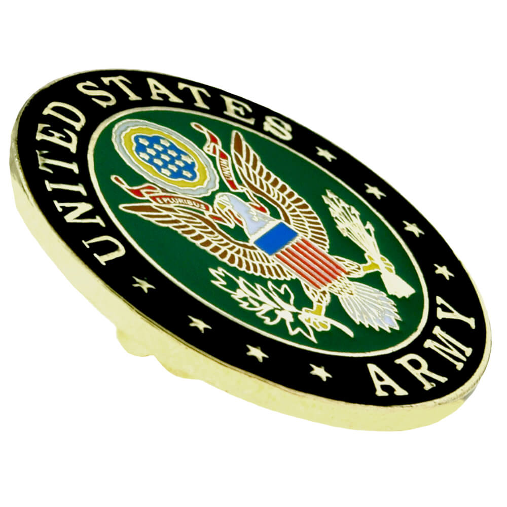 PinMart/'s USA Military Armed Forces Army Branch Patriotic Enamel Lapel Pin 1/""