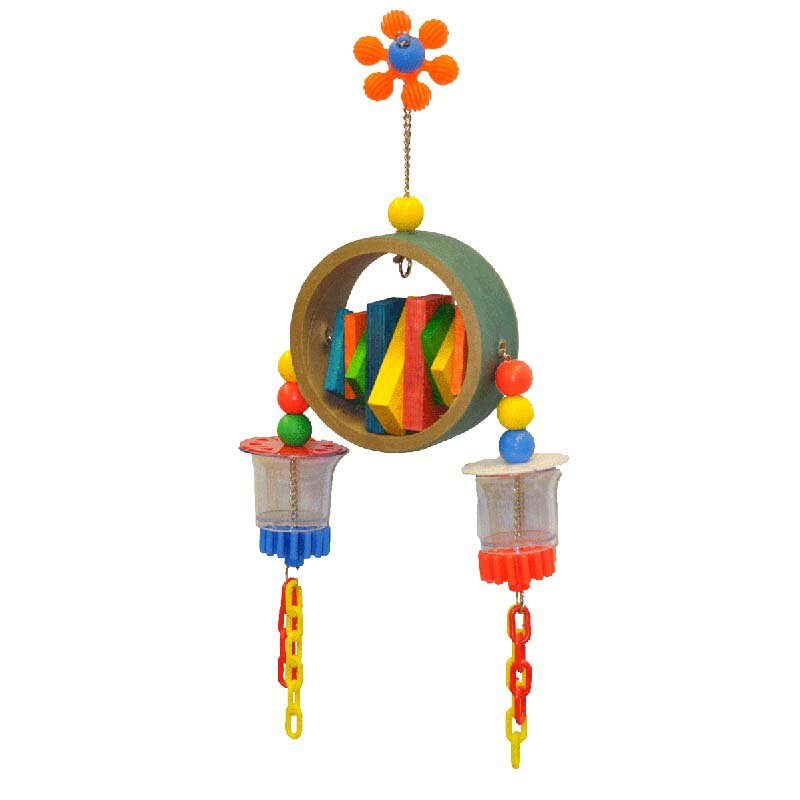 Image of A and E Cage Co. Breakfast for Two Bird Toy