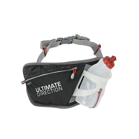 Access 10 Waistpack, Black, One Size, Semi-flexible angled cage with flared top for easy bottle access By Ultimate