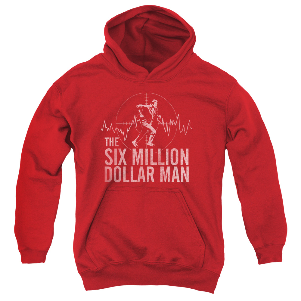 The Six Million Dollar Man Target Big Boys Pullover Hoodie