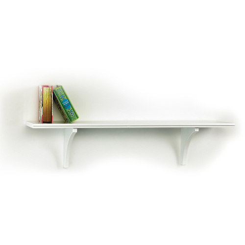 "InPlace Shelving 16"" W x 5"" D x 4.88"" H Trophy Shelf Kit, White"
