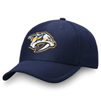Men's Fanatics Branded Navy Nashville Predators Adjustable Hat - OSFA