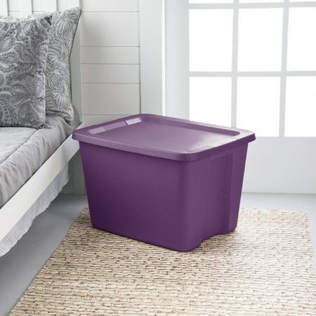 Sterilite, 18 Gal./68 L Tote Box, Moda Purple