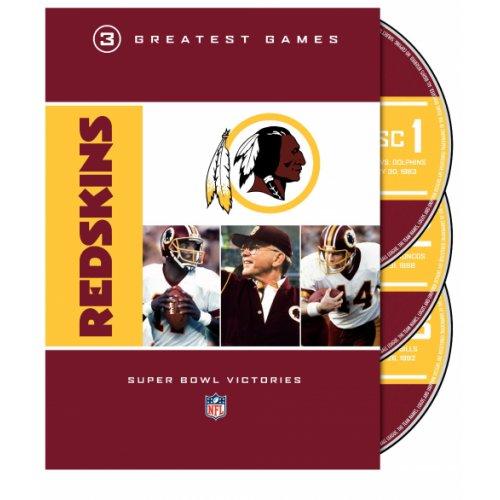 Warner Nfl Greatest Games Series: Washington Redskins 3 Greatest Games: Super Bowl Victories