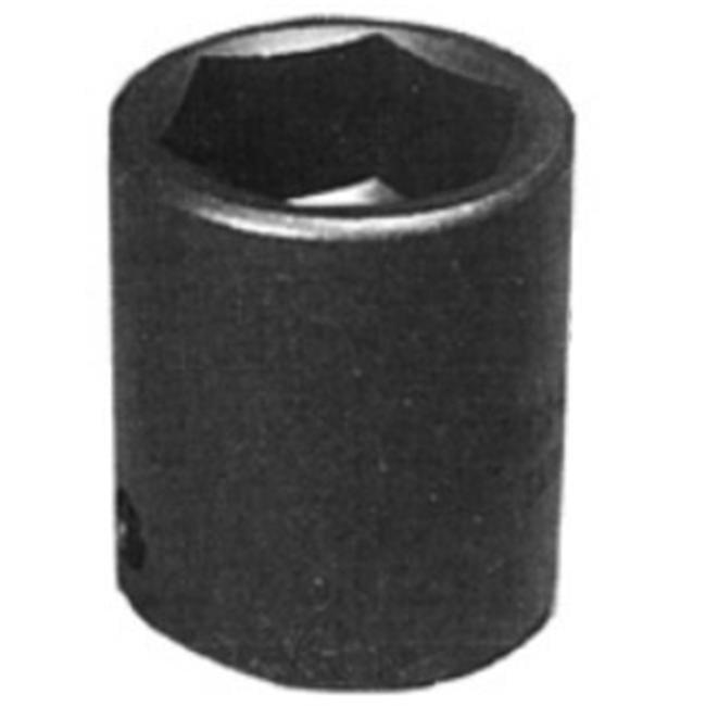 K Tool International 1/2 Inch Drive Standard 6 Point Impact Socket