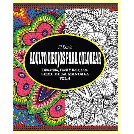 Disfraces De Halloween Para Adultos (El Estr�s Adultos Dibujos Para Colorear : Divertido, F�cil y Relajante Serie de la Mandala (Vol.)