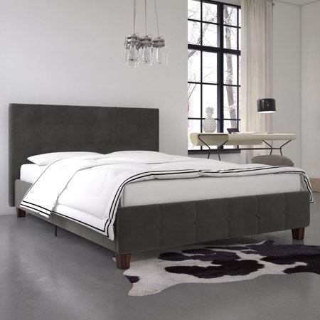 DHP Rose Upholstered Bed, Multiple Options Available
