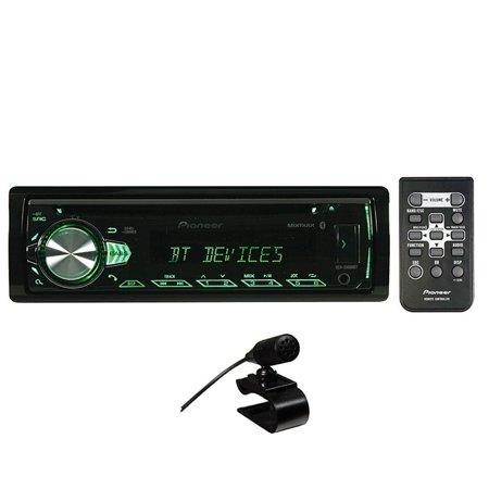 Pioneer Deh S5000bt Single Din In Dash Cd Receiver With Bluetooth   Illuminated Rotary Knob