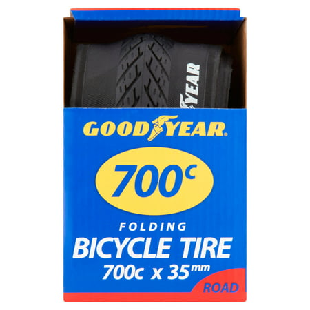 Goodyear 700c Folding Road Bicycle Tire, Black