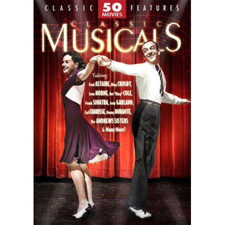 Musical Classics 50 Movie Megapack (DVD)