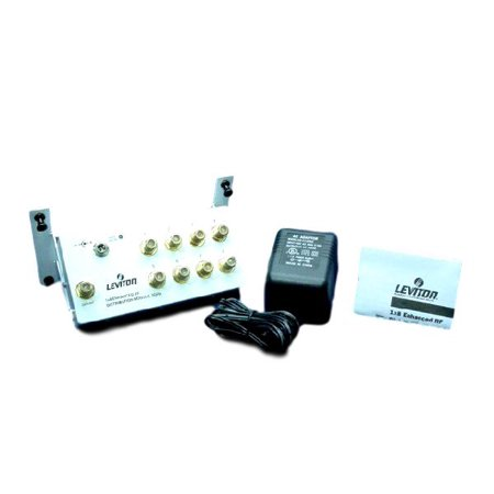2 Video Distribution Amplifier (Leviton 47692-GSM Video Distribution Module 1X8 Amplifier 2 GHz)