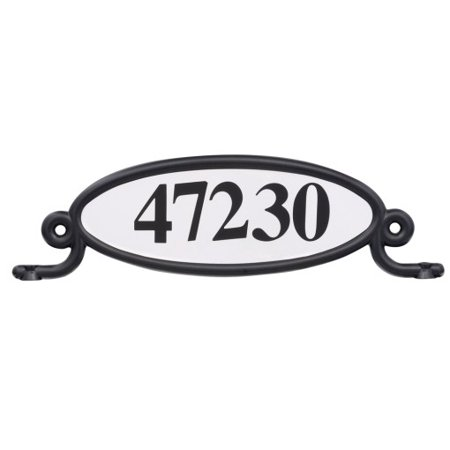 Solar Group Inc MBPLAQ0B Decorative Oval Address Plaque