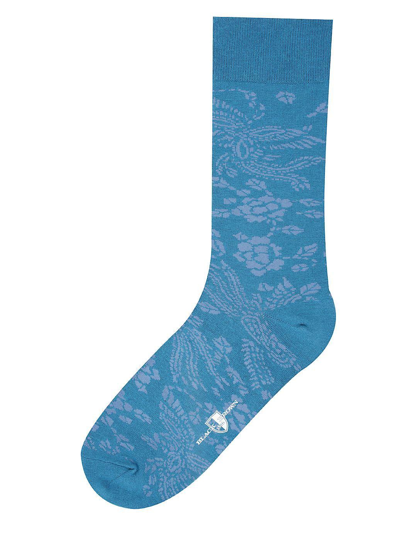 Vintage Paisley Dress Socks
