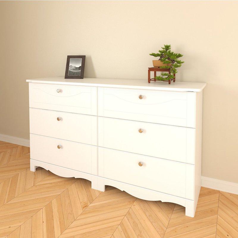 Dixie 6 Drawer Dresser