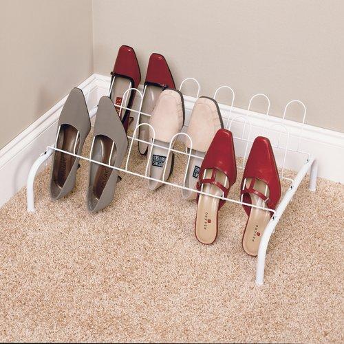 ClosetMaid 9-Pair 1 Tier Shoe Rack by ClosetMaid
