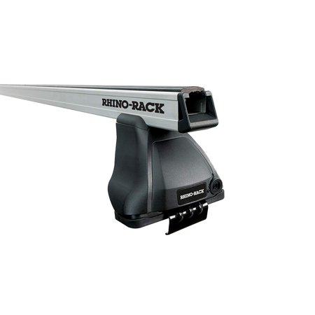 - Rhino Rack MAZDA Mazda 3 4dr Sedan 2010 to 2013 - Heavy Duty 2500 Silver 2 Bar Roof Rack