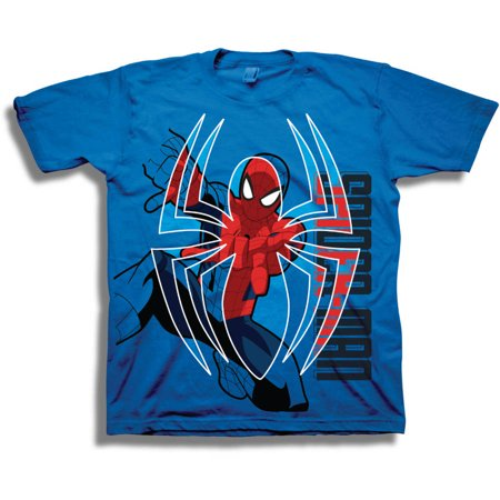 Marvel Spiderman Boys' Short Sleeve T-Shirt