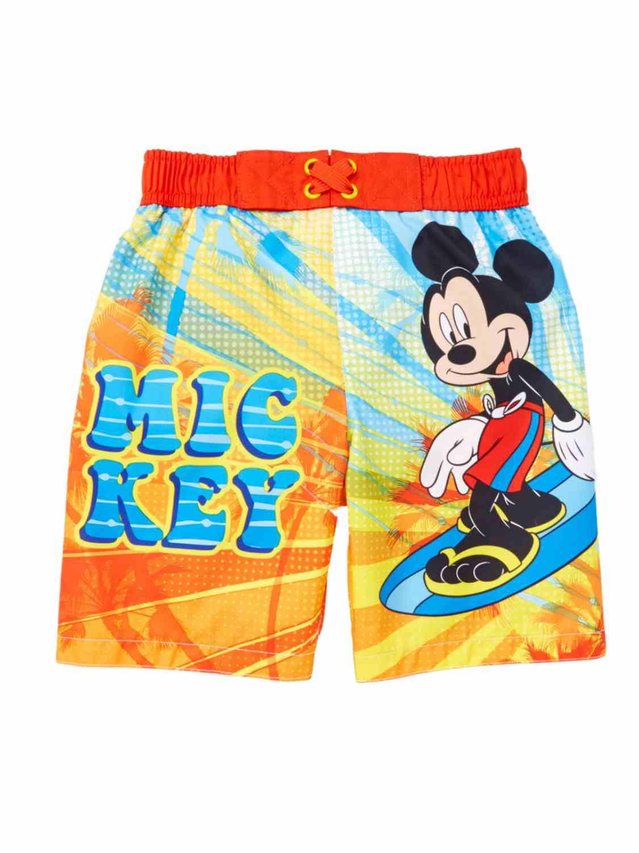 NEW Hurley red rat cartoon board shorts baby boys swim trunks swimsuit 2T 3T 4T