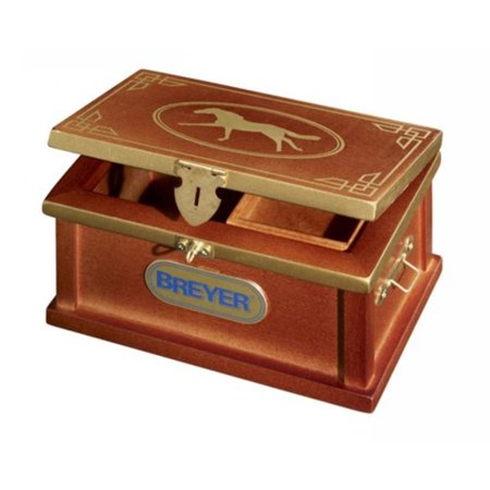 Traditional Deluxe Tack Box Horse Toy Accessory, Every rider needs a tack box to store all their gear! By Breyer