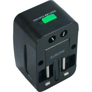 Qvs Pa C3 Premium World Power Travel Adapter With Surge Protection