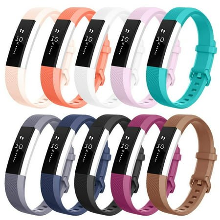 10Packs For Fitbit Alta / Alta HR Bands, Small Size Replacement Soft Silicone Bands for Fitbit Alta Alta / Alta HR Tracker - image 9 of 9