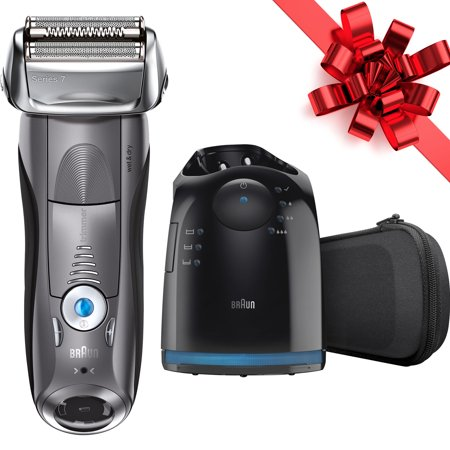 Braun Series 7 7865cc ($20 Coupon Eligible) Men's Electric Foil Shaver, Wet and Dry Razor with Clean & Charge