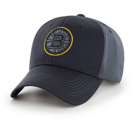 Nhl Boston Bruins Blackball Cap   Hat By Fan Favorite