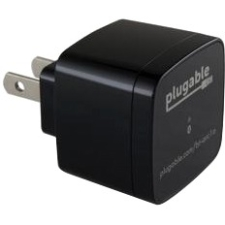 PLUGABLE BLUETOOTH 3.5MM AUDIO WIRELESS RECEIVER WITH USB CHARGING