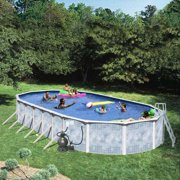 "Heritage Oval 24' x 12' x 52"" Above Ground Swimming Pool"