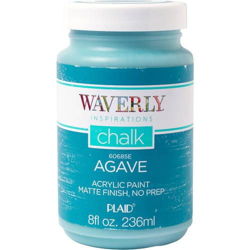 Waverly Inspirations Matte Chalk Finish Acrylic Paint by Plaid, Agave ...