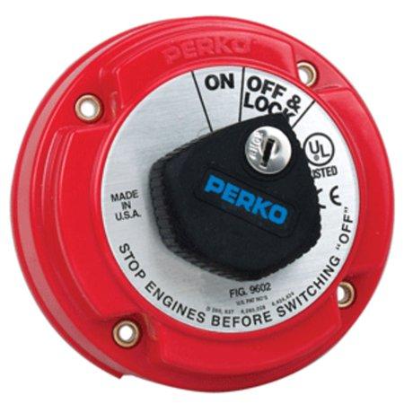 Perko Medium Duty Main Battery Disconnect Switch w/Key